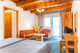 Kétágyas komfort szoba, teraszos